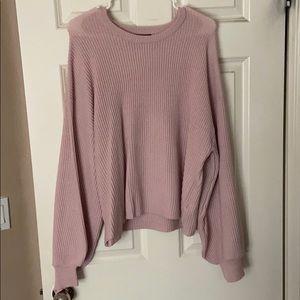 Cute pink sweater